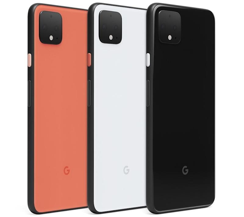 The Pixel 4 will be available in two sizes: a 5.7-inch model, and 6.3-inch version. (Image: Google)