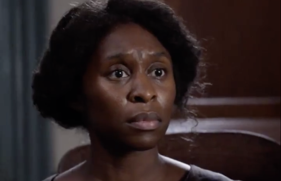Cynthia Erivo faces criticism after the trailer for Harriet Tubman's biopic was released. (Photo: Focus Features)