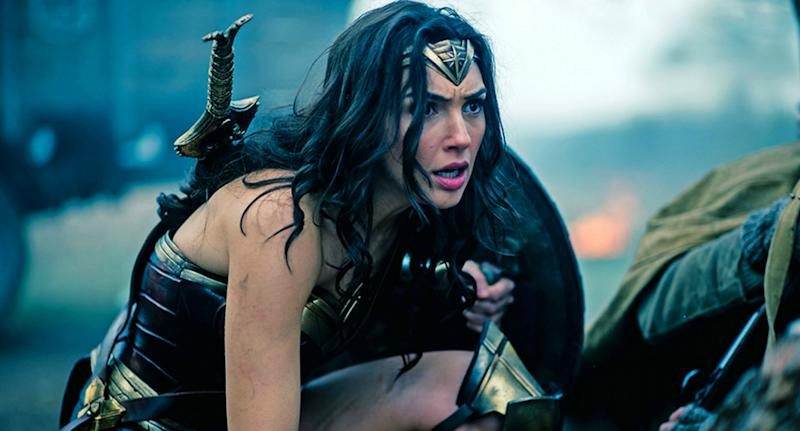 Gal Gadot in 'Wonder Woman' (credit: Warner Bros)