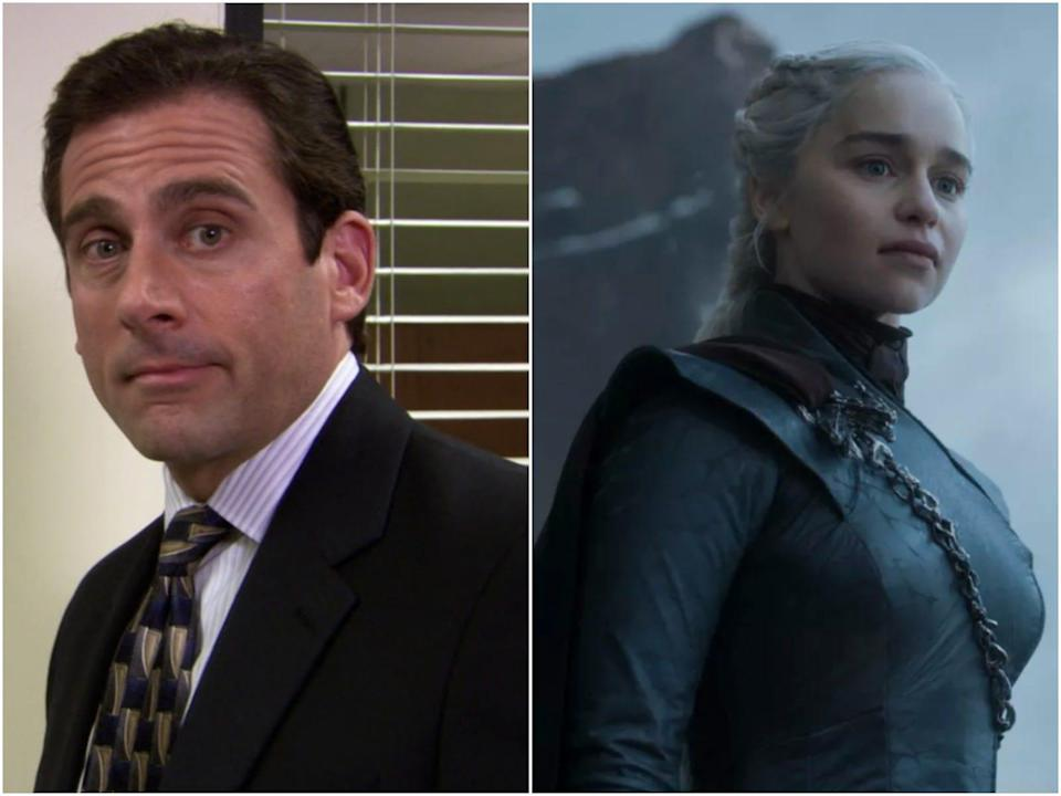 Game of thrones and The Office