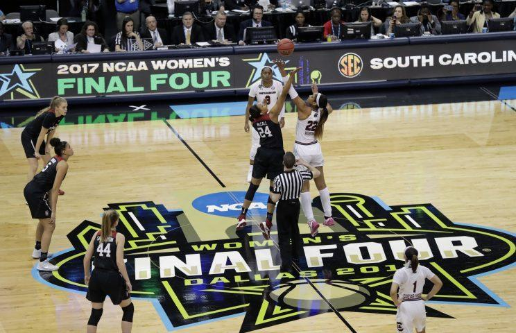 The women's Final Four drew plenty of big names to Dallas. (AP)