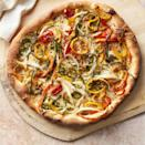 """<p>Throw it in the air fryer for a crispy crust and melty cheese.</p><p><a href=""""https://www.womansday.com/food-recipes/a32676355/hot-pepper-and-onion-pizza-recipe/"""" rel=""""nofollow noopener"""" target=""""_blank"""" data-ylk=""""slk:Get the recipe from Woman's Day »"""" class=""""link rapid-noclick-resp""""><em>Get the recipe from Woman's Day »</em></a></p>"""