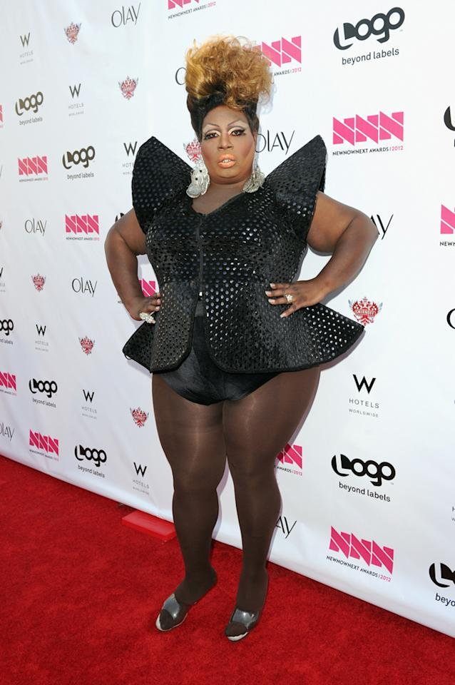 Latrice Royale arrives at LOGO's NewNowNext Awards at Avalon on April 5, 2012 in Hollywood, California.