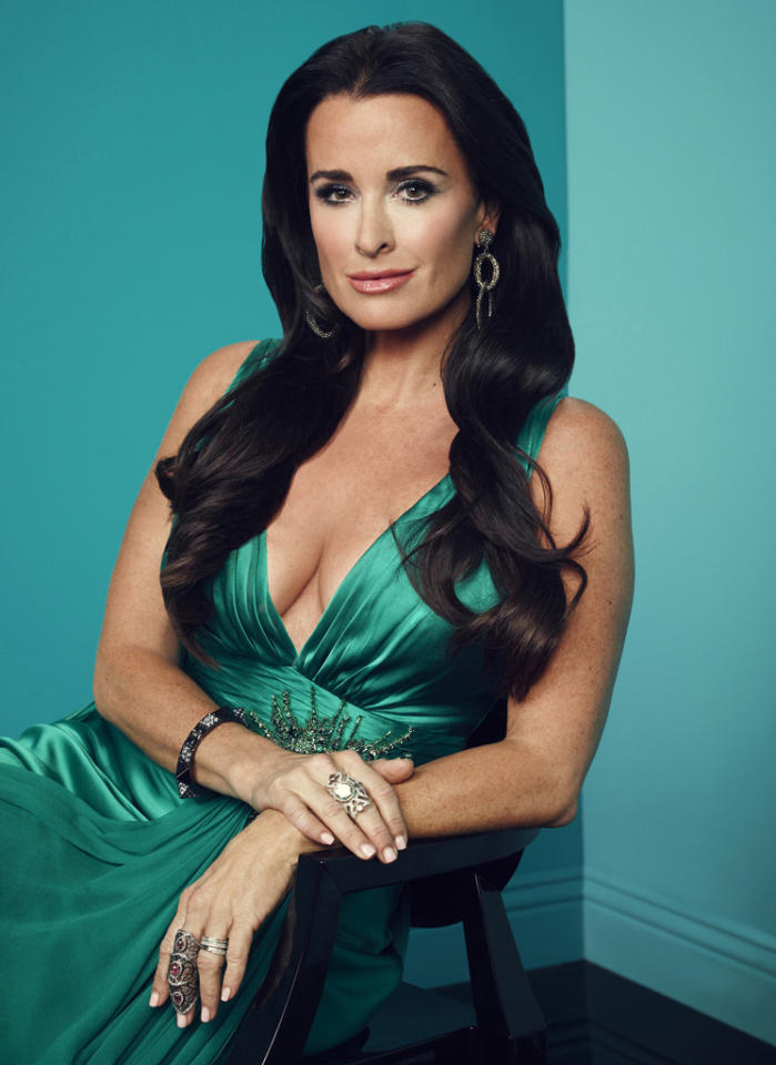"""Kyle Richards in """"The Real Housewives of Beverly Hills"""" Season 3."""