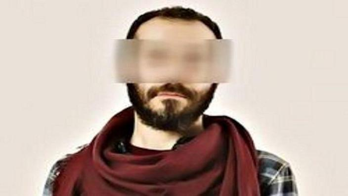 Art professor Keivan Emamverdi is seen in a photo provided to Iranian media after his arrest on rape charges by the Tehran police on August 25, 2020. / Credit: Iranian state media