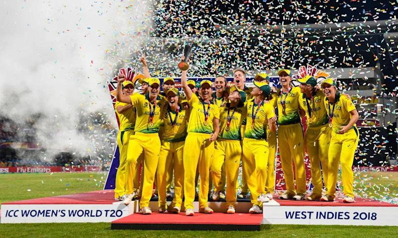 Australia beat England in the World Cup final (Getty)