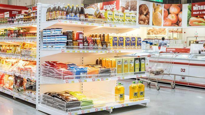 grocery end cap