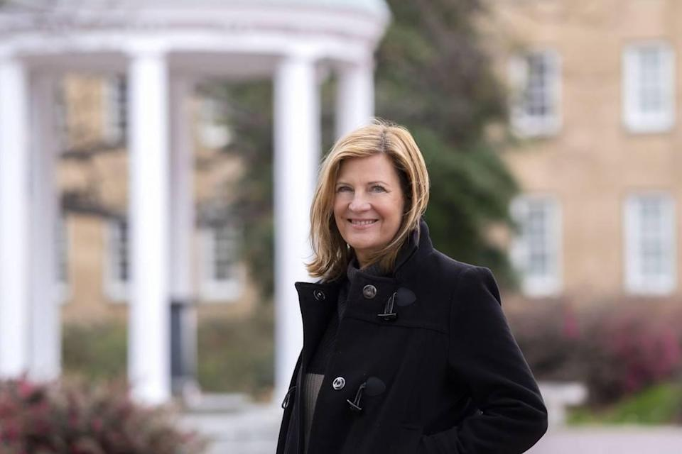 Professor Mimi Chapman is the chair of the faculty at UNC-Chapel Hill.
