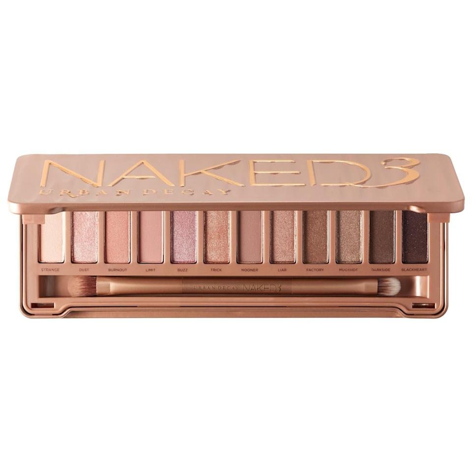"<p>This <a href=""https://www.popsugar.com/buy/Urban-Decay-Naked3-Palette-525691?p_name=Urban%20Decay%20Naked3%20Palette&retailer=sephora.com&pid=525691&price=54&evar1=fab%3Aus&evar9=36291197&evar98=https%3A%2F%2Fwww.popsugar.com%2Ffashion%2Fphoto-gallery%2F36291197%2Fimage%2F46988976%2FUrban-Decay-Naked3-Palette&list1=shopping%2Choliday%2Cwinter%2Cgift%20guide%2Cwinter%20fashion%2Choliday%20fashion%2Cfashion%20gifts&prop13=api&pdata=1"" rel=""nofollow noopener"" class=""link rapid-noclick-resp"" target=""_blank"" data-ylk=""slk:Urban Decay Naked3 Palette"">Urban Decay Naked3 Palette</a> ($54) is great for every day.</p>"