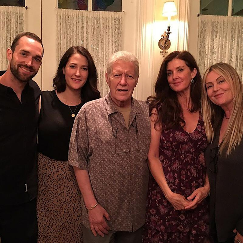 Alex Trebek and family | Alex Trebeck/Instagram
