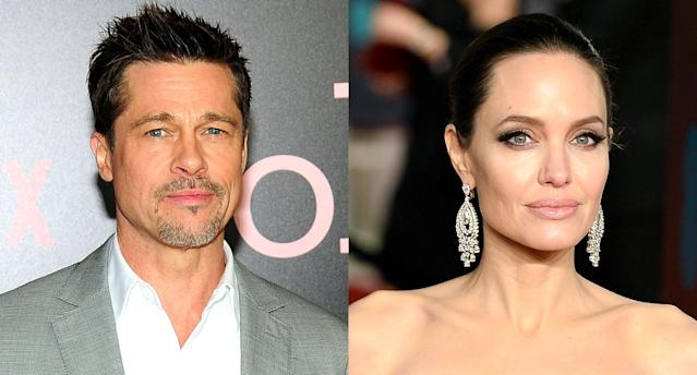 Brad Pitt and Angelina Jolie (Photo: Getty Images)