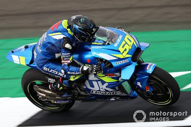 "Sylvain Guintoli, Team Suzuki MotoGP <span class=""copyright"">Gold and Goose / LAT Images</span>"