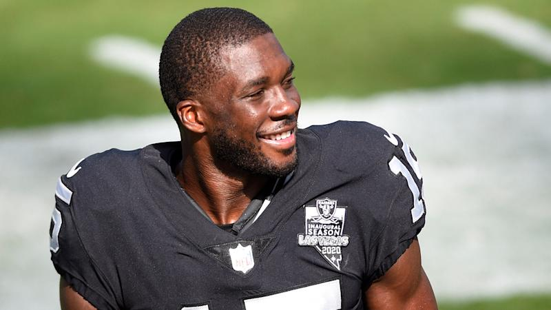 Raiders' Nelson Agholor only NFL WR with perfect passer rating when targeted