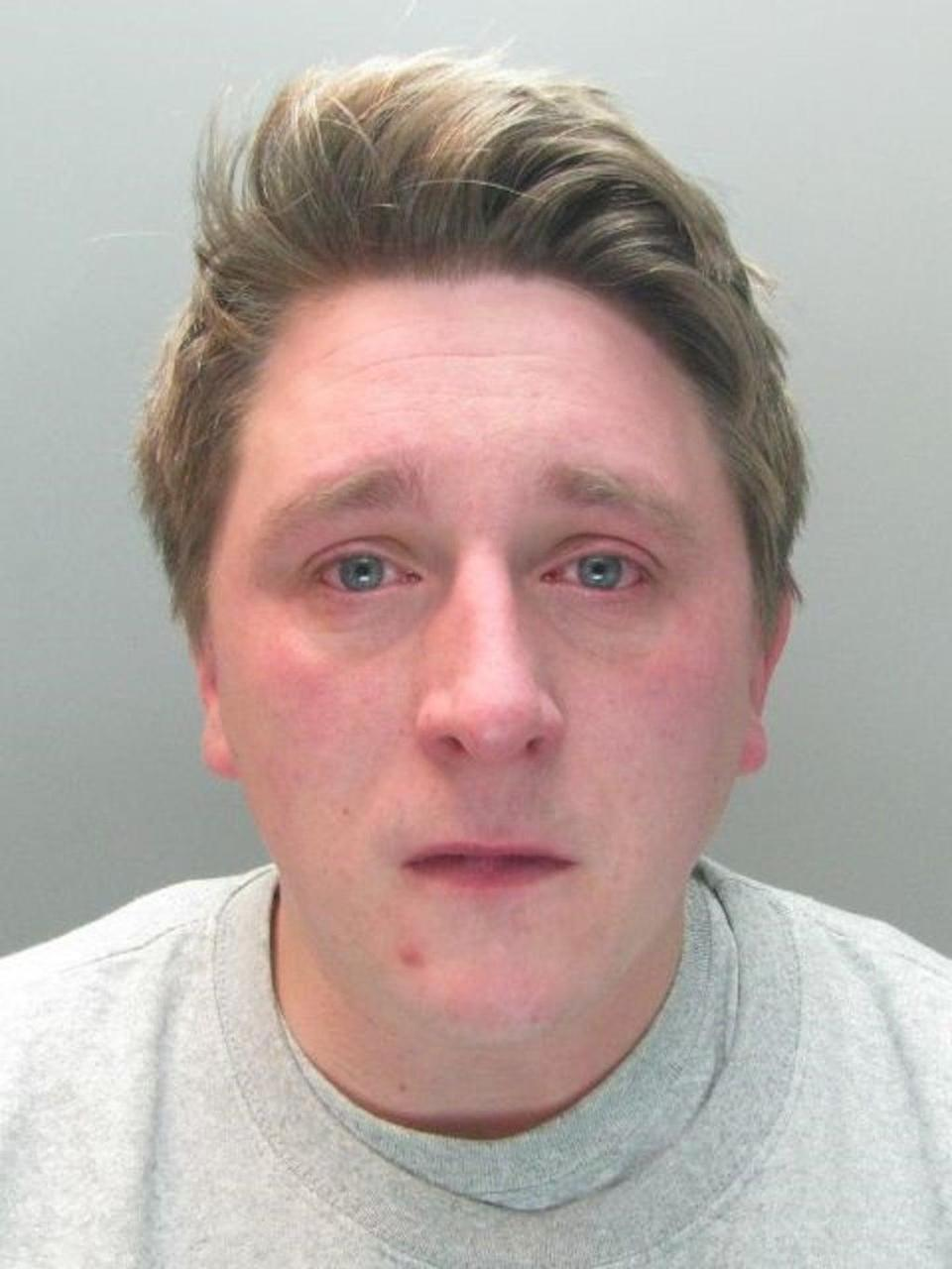 Sam Pybus has been jailed for four years and eight months (PA)