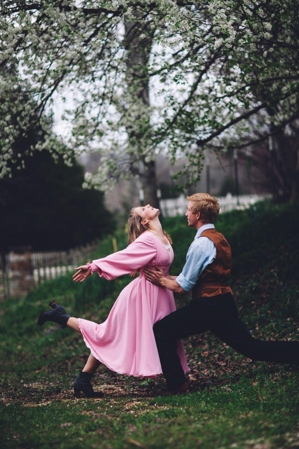 """<p>For those who prefer the romantic route, consider this DIY couples costume inspired by the movie musical's beloved """"A Million Dreams"""" scene. Use chiffon and special sewing techniques to make Charity Barnum's pink dress from scratch. </p><p><strong>Get the tutorial at <a href=""""https://bella-maes.com/2018/05/04/the-great-endeavor-recreating-greatest-showman-costumes-charitys-pink-dress/"""" rel=""""nofollow noopener"""" target=""""_blank"""" data-ylk=""""slk:Bella Mae's Sewing Corner"""" class=""""link rapid-noclick-resp"""">Bella Mae's Sewing Corner</a>. </strong></p><p><a class=""""link rapid-noclick-resp"""" href=""""https://www.amazon.com/Chiffon-Continuous-Wedding-Decoration-Barcelonetta/dp/B07RB8G3YV/ref=sr_1_2?tag=syn-yahoo-20&ascsubtag=%5Bartid%7C10050.g.29402076%5Bsrc%7Cyahoo-us"""" rel=""""nofollow noopener"""" target=""""_blank"""" data-ylk=""""slk:SHOP CHIFFON"""">SHOP CHIFFON</a></p>"""