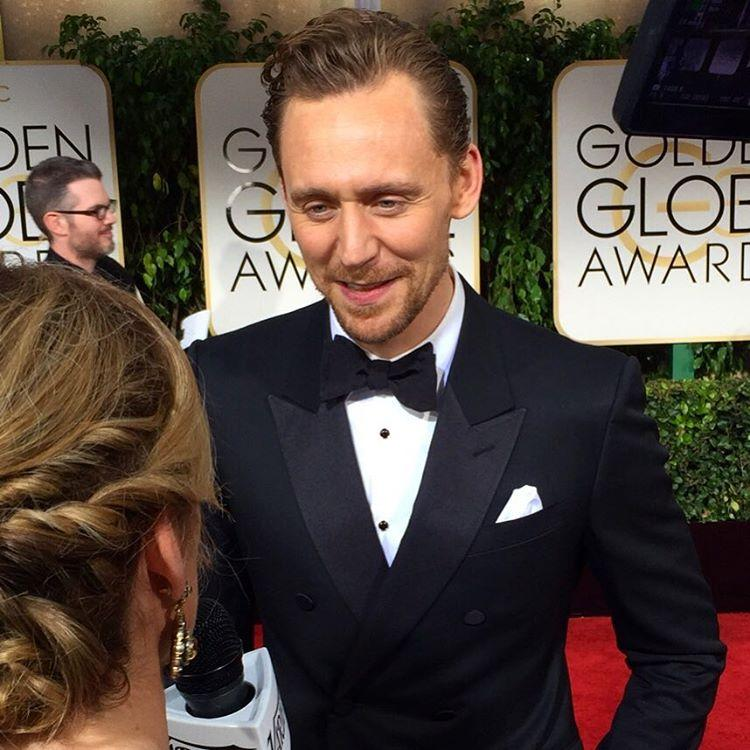 <p>He may have won a Globe for 'The Night Manager,' but he'll always be Loki to us. We ❤️ Tom Hiddleston! #goldenglobes #tomhiddleston (Photo: Giana Mucci/Yahoo) </p>