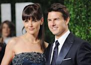"<p>Katie Holmes and Tom Cruise announced the arrival of Suri Cruise in 2006. The name ""Suri"" has <a href=""http://www.today.com/id/12376298/ns/today-today_entertainment/t/katie-holmes-gives-birth-girl-suri/#.XBz8R2RKju0"" rel=""nofollow noopener"" target=""_blank"" data-ylk=""slk:Hebrew origins"" class=""link rapid-noclick-resp"">Hebrew origins</a> and means ""princess,"" or in Persian means ""red rose.""</p><p>Katie and Tom split in 2012.</p>"