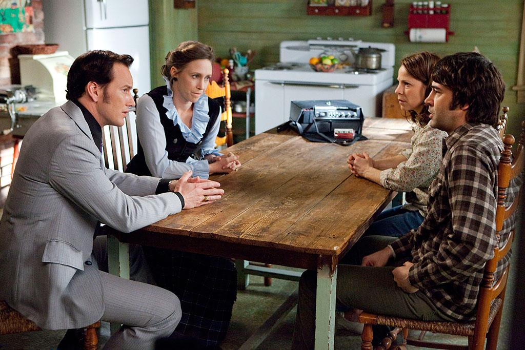 "Patrick Wilson, Vera Farmiga, Lili Taylor and Ron Livingston in Warner Bros.' ""The Conjuring"" - 2013"