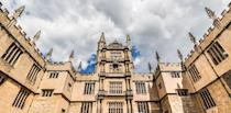 """<p>We're not exactly sure when the University of Oxford was founded; however, there is evidence that it dates back to 1096, making it the oldest university in the English-speaking world. It was recently ranked first in the world by the <a href=""""https://www.timeshighereducation.com/world-university-rankings/2017/world-ranking#!/page/0/length/25/sort_by/rank/sort_order/asc/cols/stats"""" rel=""""nofollow noopener"""" target=""""_blank"""" data-ylk=""""slk:Times Higher Education World University Rankings"""" class=""""link rapid-noclick-resp"""">Times Higher Education World University Rankings</a>. As you can imagine, this university's trophy shelf is pretty crowded. </p>"""