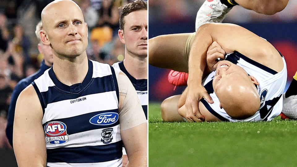 Gary Ablett, pictured here during the AFL grand final.