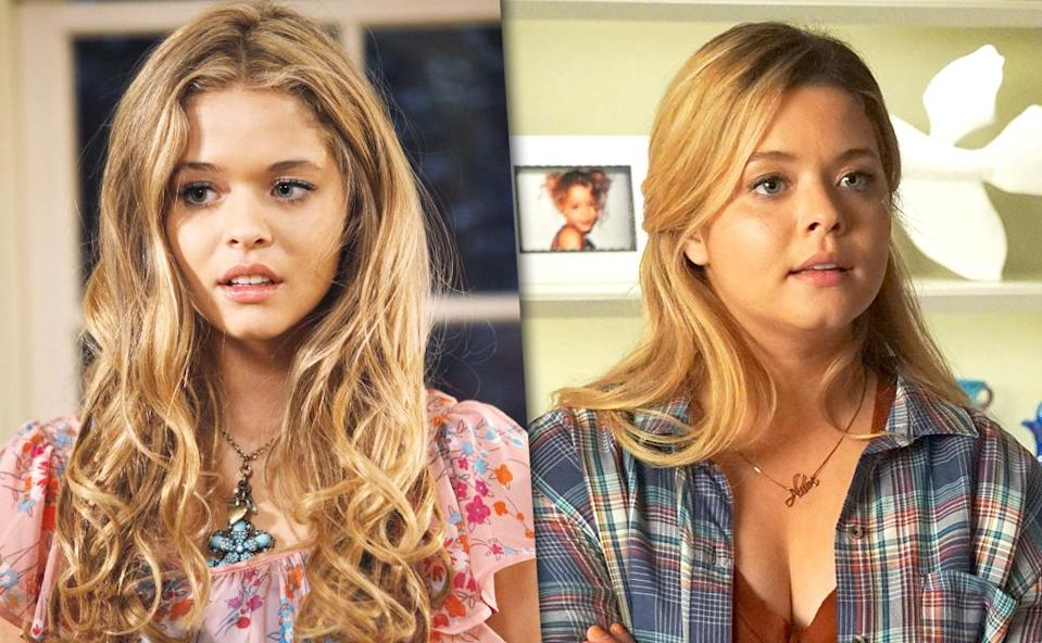 <p>Pieterse modeled and acted in small roles before landing the role of Alison, whose (supposed) death jumpstarted the events of the show. As the queen bee before her disappearance, Alison could be manipulative and cruel. But in recent years, she's reformed to be a good friend and is finally returning Emily's feelings.<br> (Photo: ABC/Getty Images) </p>