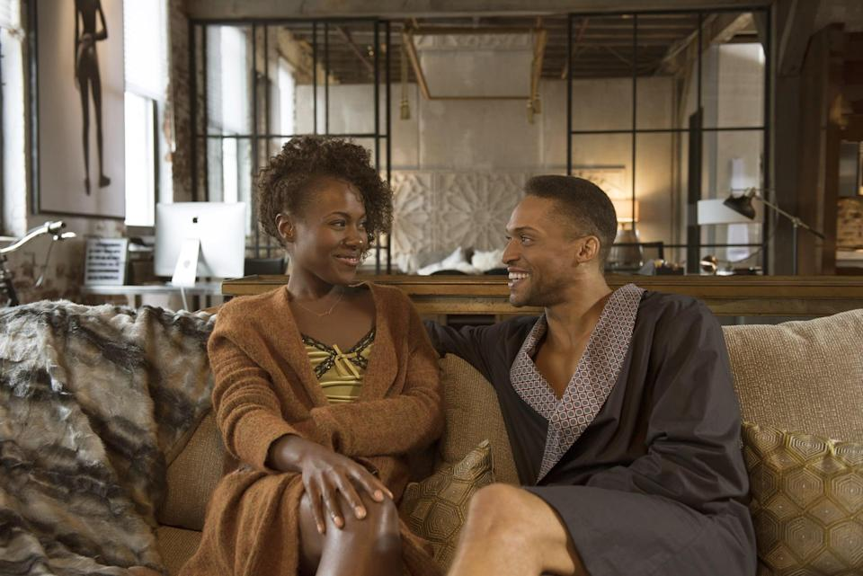 """<p>Nola Darling (DeWanda Wise) is a sexually free artist who moves through life taking what she wants. She's by turns a feminist, an activist, and a woman who has no time for the people who don't understand the way she's chosen to live her life. </p> <p>Watch <a href=""""https://www.netflix.com/title/80117554"""" class=""""link rapid-noclick-resp"""" rel=""""nofollow noopener"""" target=""""_blank"""" data-ylk=""""slk:She's Gotta Have It""""><strong>She's Gotta Have It</strong></a> on Netflix now.</p>"""