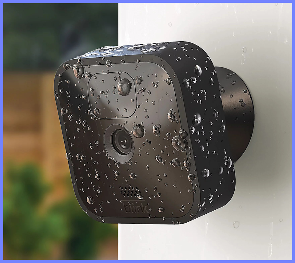 These Blink HD security cameras are also weather-resistant. (Photo: QVC)