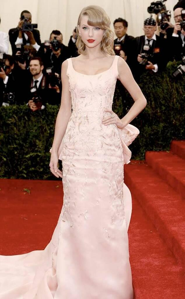 Taylor Swift, 2014 MET Gala, Red Carpet Fashions, Widget
