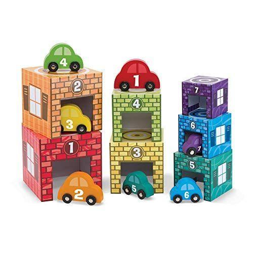 """<p><strong>Melissa & Doug</strong></p><p>amazon.com</p><p><strong>$17.99</strong></p><p><a href=""""https://www.amazon.com/dp/B00EX5J9DM?tag=syn-yahoo-20&ascsubtag=%5Bartid%7C10048.g.34727939%5Bsrc%7Cyahoo-us"""" rel=""""nofollow noopener"""" target=""""_blank"""" data-ylk=""""slk:Buy Now"""" class=""""link rapid-noclick-resp"""">Buy Now</a></p><p>Here's another option for little kids. This cute car toy helps kids aged 2 to 4 with counting, colors, and sorting skills. </p>"""