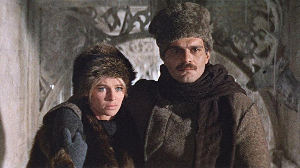 """<p>This is for those who want a <em>lot</em> of romance, as the running time of this movie stretches for more than three hours. But if you're into epics, this Omar Sharif-starring film, set it Russia before World War I, will fit the bill.</p><p><a class=""""link rapid-noclick-resp"""" href=""""https://www.amazon.com/Doctor-Zhivago-Omar-Sharif/dp/B000NI8F4W?tag=syn-yahoo-20&ascsubtag=%5Bartid%7C10055.g.30416771%5Bsrc%7Cyahoo-us"""" rel=""""nofollow noopener"""" target=""""_blank"""" data-ylk=""""slk:WATCH ON AMAZON"""">WATCH ON AMAZON</a> <a class=""""link rapid-noclick-resp"""" href=""""https://go.redirectingat.com?id=74968X1596630&url=https%3A%2F%2Fitunes.apple.com%2Fus%2Fmovie%2Fdoctor-zhivago%2Fid272602984&sref=https%3A%2F%2Fwww.goodhousekeeping.com%2Flife%2Fentertainment%2Fg30416771%2Fbest-romantic-movies%2F"""" rel=""""nofollow noopener"""" target=""""_blank"""" data-ylk=""""slk:WATCH ON ITUNES"""">WATCH ON ITUNES</a></p>"""