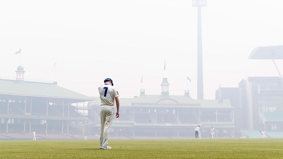 Conditions at the SCG were labelled 'toxic' during a Sheffield Shield match in December.