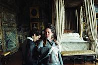 """A decidedly odd historical drama helmed by offbeat Greek director Yorgos Lanthimos didn't seem primed for mainstream appeal. But a starry cast and, most importantly, <a href=""""https://uk.movies.yahoo.com/oscars-2019-olivia-colman-crowned-oscar-glory-favourite-062159580.html"""" data-ylk=""""slk:an Oscar win for national treasure Olivia Colman;outcm:mb_qualified_link;_E:mb_qualified_link;ct:story;"""" class=""""link rapid-noclick-resp yahoo-link"""">an Oscar win for national treasure Olivia Colman</a> drove plenty of interest to this treat of a movie. (Credit: Fox)"""