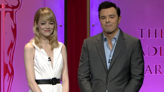 Seth MacFarlane Gets Own Nomination