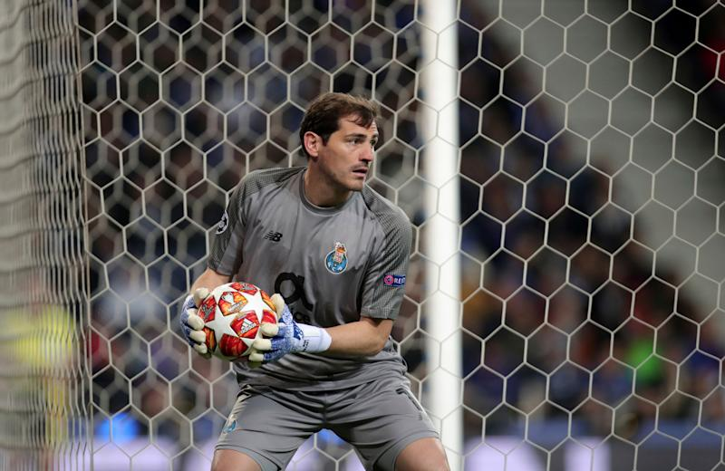 Porto goalkeeper Iker Casillas suffers heart attack, taken to hospital
