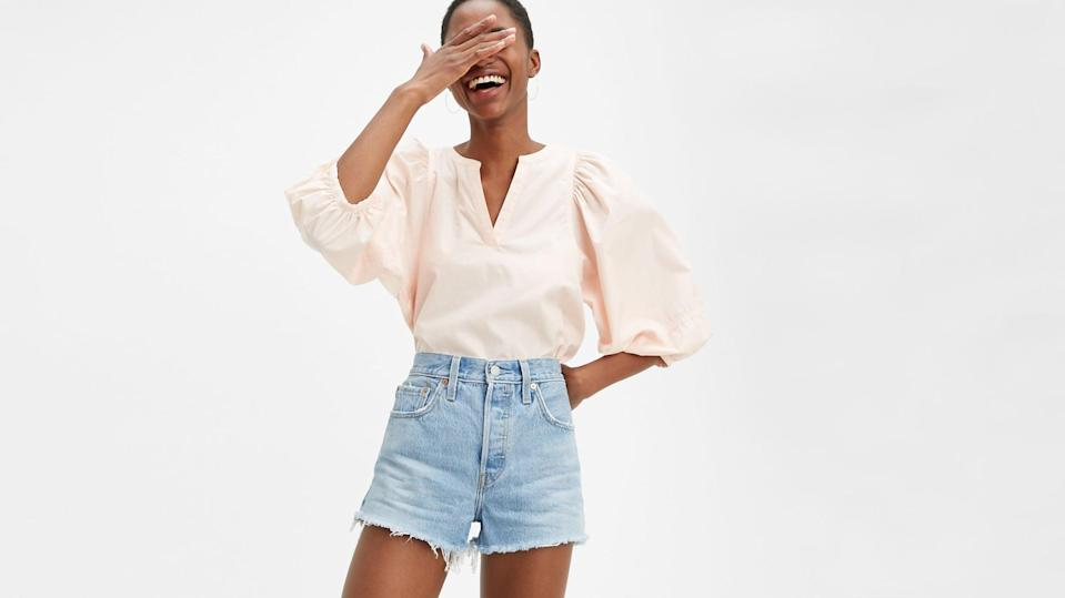 <p>These classic <span>Levi's 501 Original Shorts</span> ($50) are the ultimate must-have pair.</p>