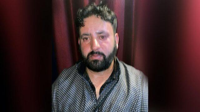 Zahoor Ahmed, a member of the TRF, was arrested on suspicion of having been behind the deaths of the 3 BJP workers