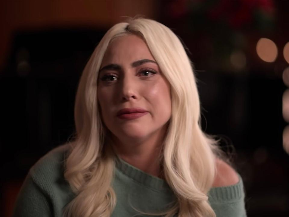 Lady Gaga breaks down in tears in Apple TV+'s The Me You Can't See (Apple TV+)