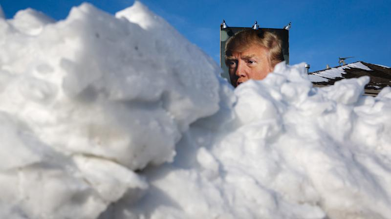 President Donald Trump used forecasts for what could be record-breaking cold weather over New Year's Eve to push a widely disproven talking point denying climate change.