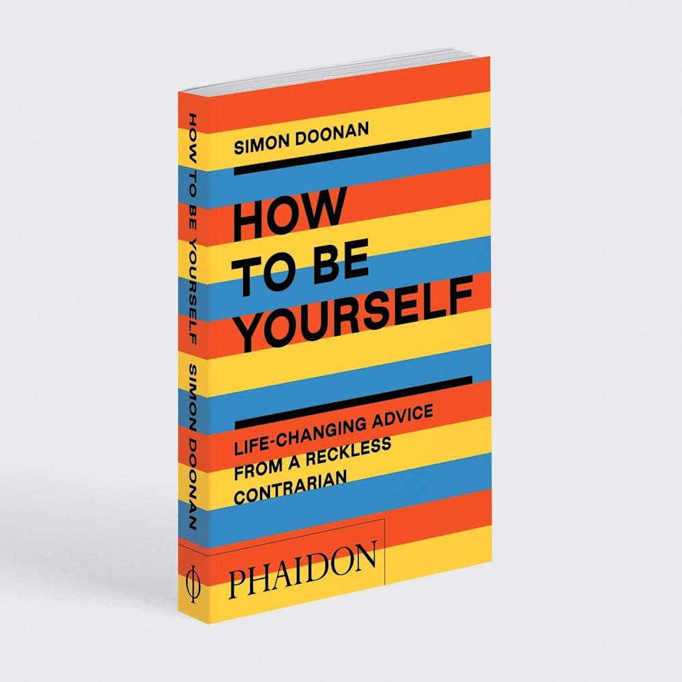 "<p><strong>Phaidon Verlag GmbH</strong></p><p>amazon.com</p><p><strong>$12.95</strong></p><p><a href=""https://www.amazon.com/dp/1838661417?tag=syn-yahoo-20&ascsubtag=%5Bartid%7C2139.g.36164434%5Bsrc%7Cyahoo-us"" rel=""nofollow noopener"" target=""_blank"" data-ylk=""slk:BUY IT HERE"" class=""link rapid-noclick-resp"">BUY IT HERE</a></p><p>This unconventional book from cultural commentator and judge of NBC's <em>Making It, </em>Simon Doonan, implores readers to put down their phones and thoughtfully reconnect with themselves. Packed with witty humor and clever advice, this book is a practical gift for anyone graduating during our current age of social media. </p>"