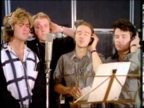 George Michael was in the original line-up. Copyright: [YouTube]
