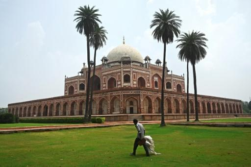 Humayun's Tomb in Delhi reopened Monday, while other national monuments like the Taj Mahal remained shut