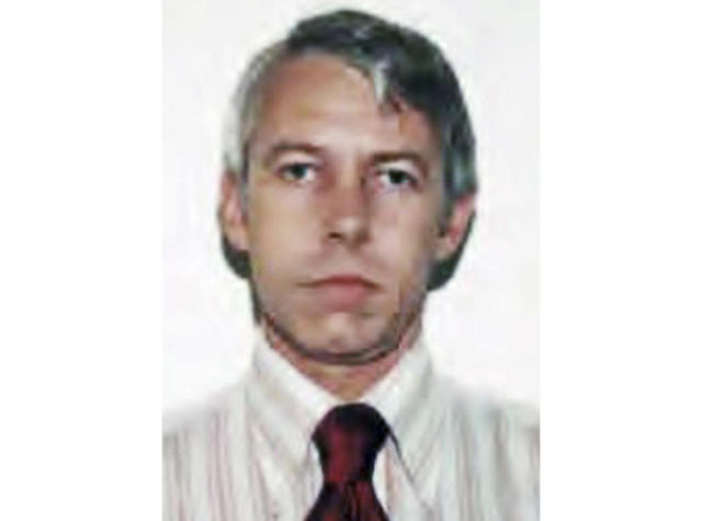 FILE – This undated file photo shows a photo of Dr. Richard Strauss, an Ohio State University team doctor employed by the school from 1978 until his 1998 retirement. Forty-three plaintiffs filed a new case against Ohio State Thursday, Nov. 8, 2019, including a wrestler alleging Strauss raped him and two men alleging they were sexually abused in exams while visiting campus at age 14 or 15. (Ohio State University via AP, File)