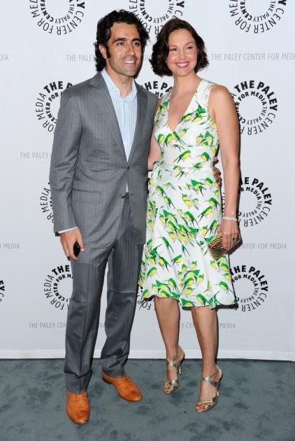 """Ashley Judd and her husband Dario Franchitti attend The Paley Center for Media's screening of """"Missing"""" on April 10, 2012 -- Getty Images"""