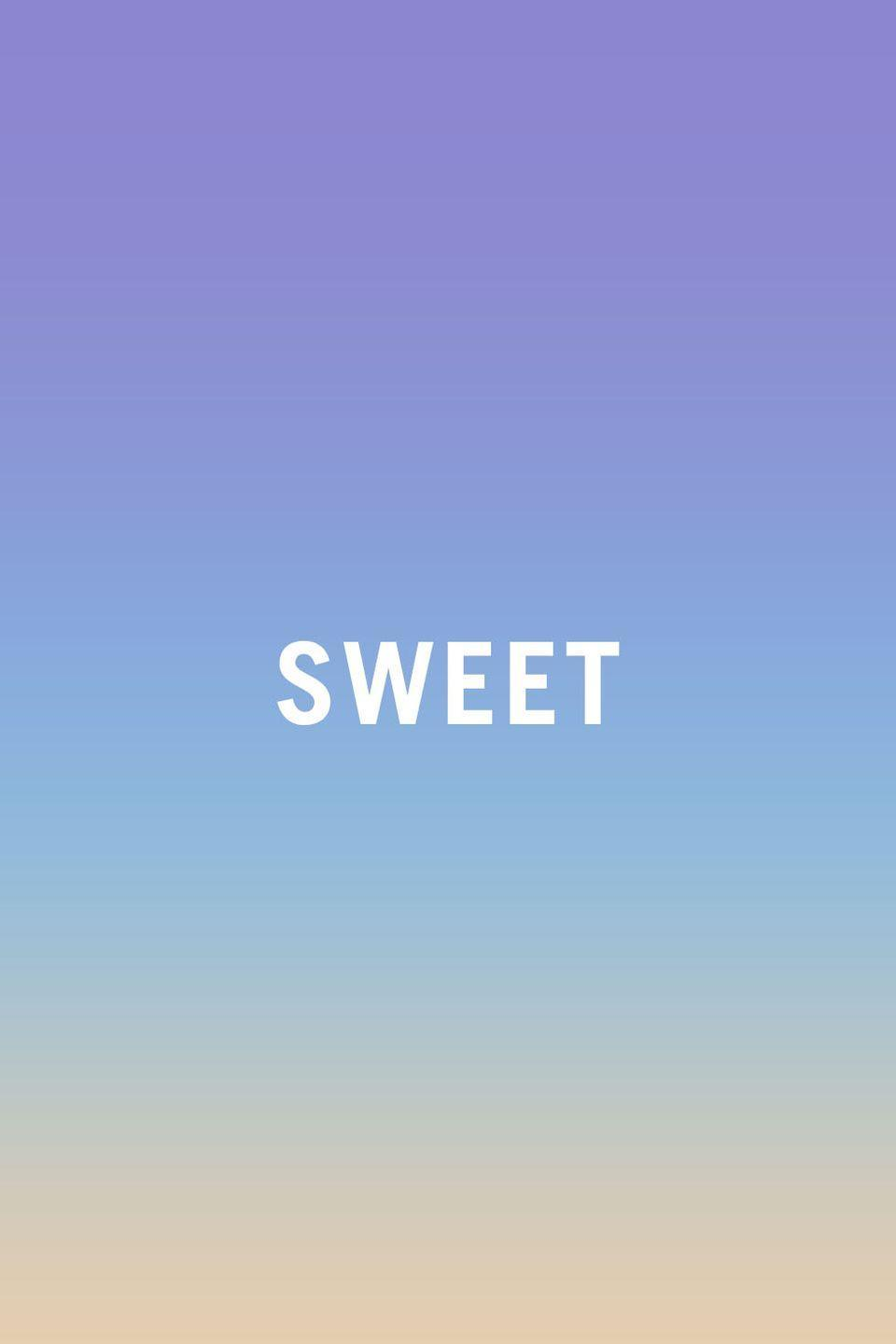 """<p>Fruit is sweet. Candy is sweet. Grandmas and babies and puppies are all sweet. But saying your new sound system is """"sweeeeeeeet"""" just makes you sound like a surfer without a board stuck in a bad part of the '90s. Not that saying something is """"cool"""" """"hot"""" """"sick"""" or """"killer"""" makes any more sense, frankly. </p>"""