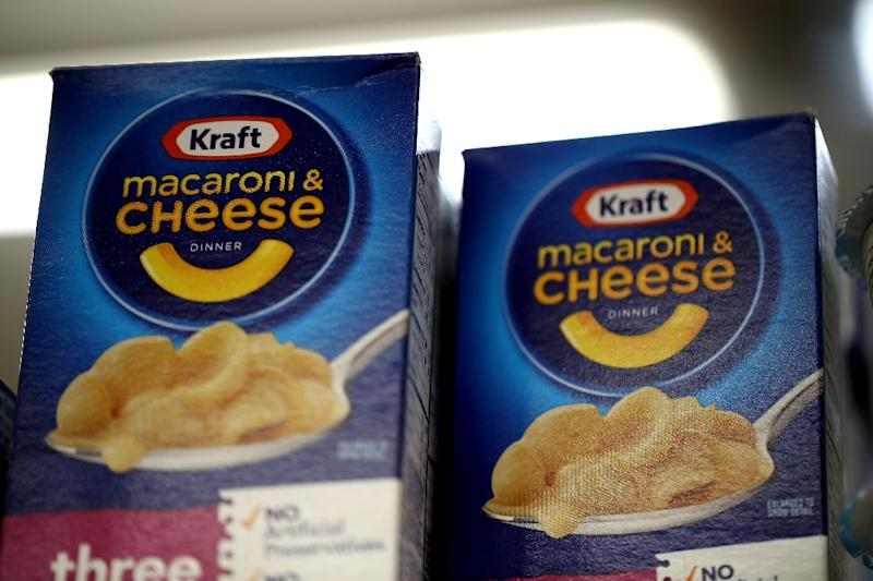 Kraft Heinz announced it will replace its chief executive as it tries to pivot from a series of setbacks, including writedowns of the trademark for Kraft and Oscar Mayer (AFP Photo/JUSTIN SULLIVAN)