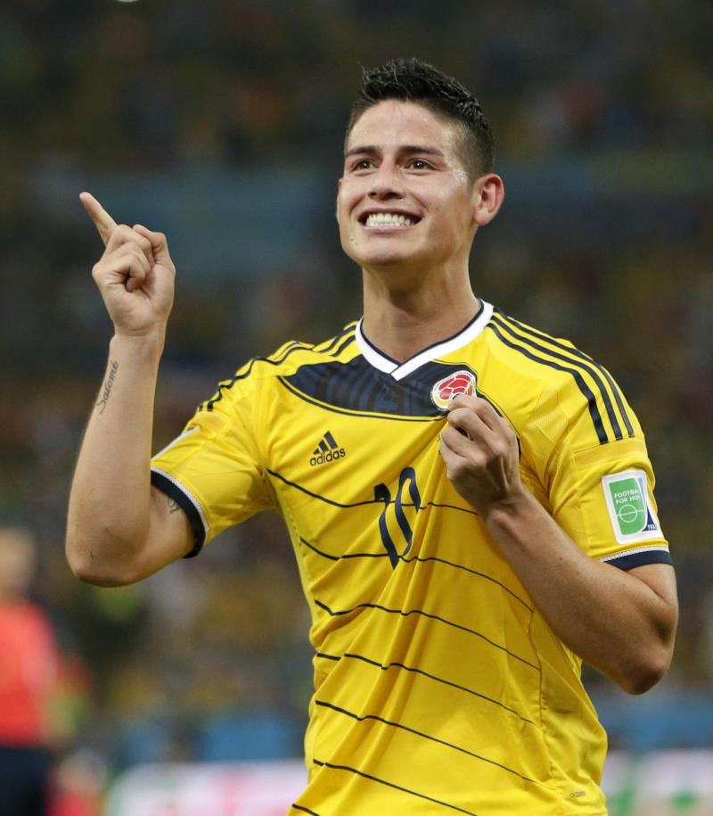 James Rodriguez signs 6-year deal with Real Madrid 2ca404192