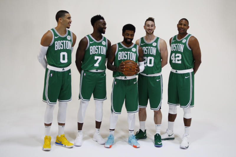 The Celtics were considered a championship contender at season's start. (Getty Images)