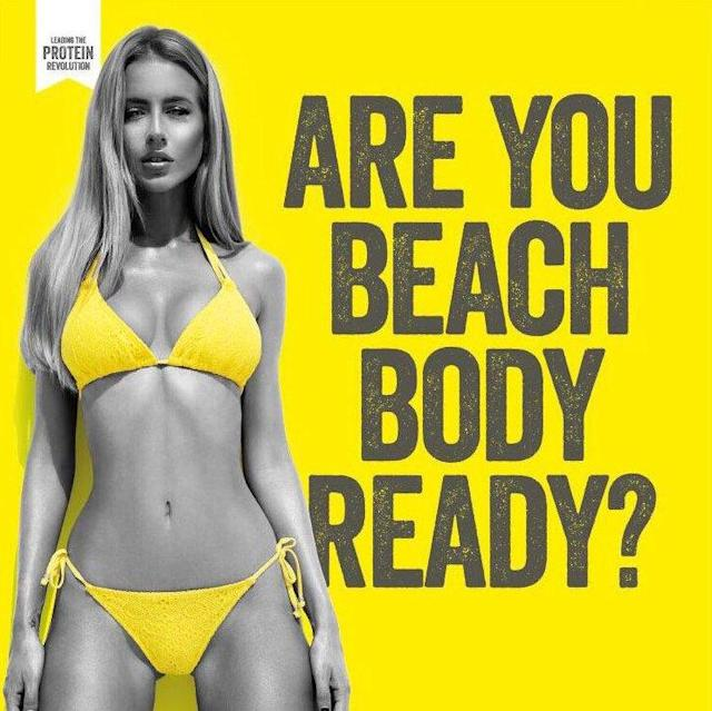 There was strong backlash to Protein World's 2015 campaign. (Photo: Protein World)