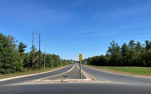 The so-called northern bypass would route provincial through traffic away from the King George Highway. (Jacques Poitras/CBC - image credit)