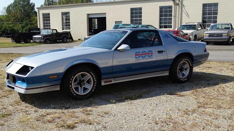 1982 Chevrolet Camaro Indy 500 Pace Car Is A Throwback